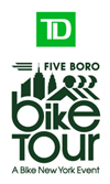 Logotipo de Five Boro Bike Tour