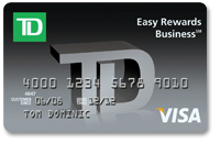 TD Easy Rewards Business Credit Card
