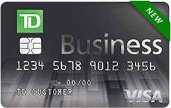 TD Business solutions Visa Signature credit card for small businesses