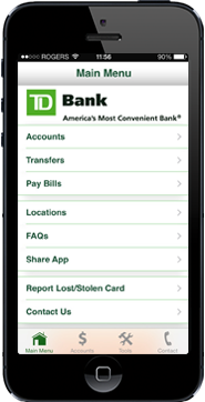 TD Bank BusinessDirect Mobile App Quick Tour