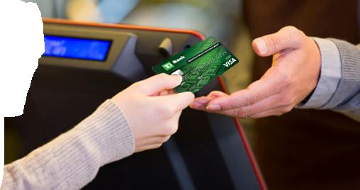 Tarjeta de débito Visa de TD Bank: la manera fácil y segura de comprar.