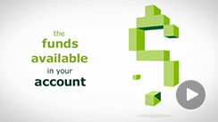 Illustration of a dollar sign to demonstrate available funds in your account