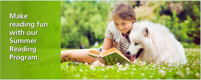 Make reading fun with our Summer Reading Program