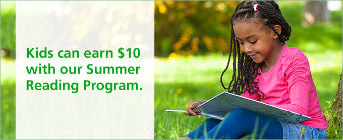 Kids can earn $10 with our Summer Reading Program  | TD Bank