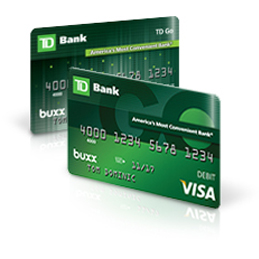 TD Go the Reloadable Prepaid Card For Teens